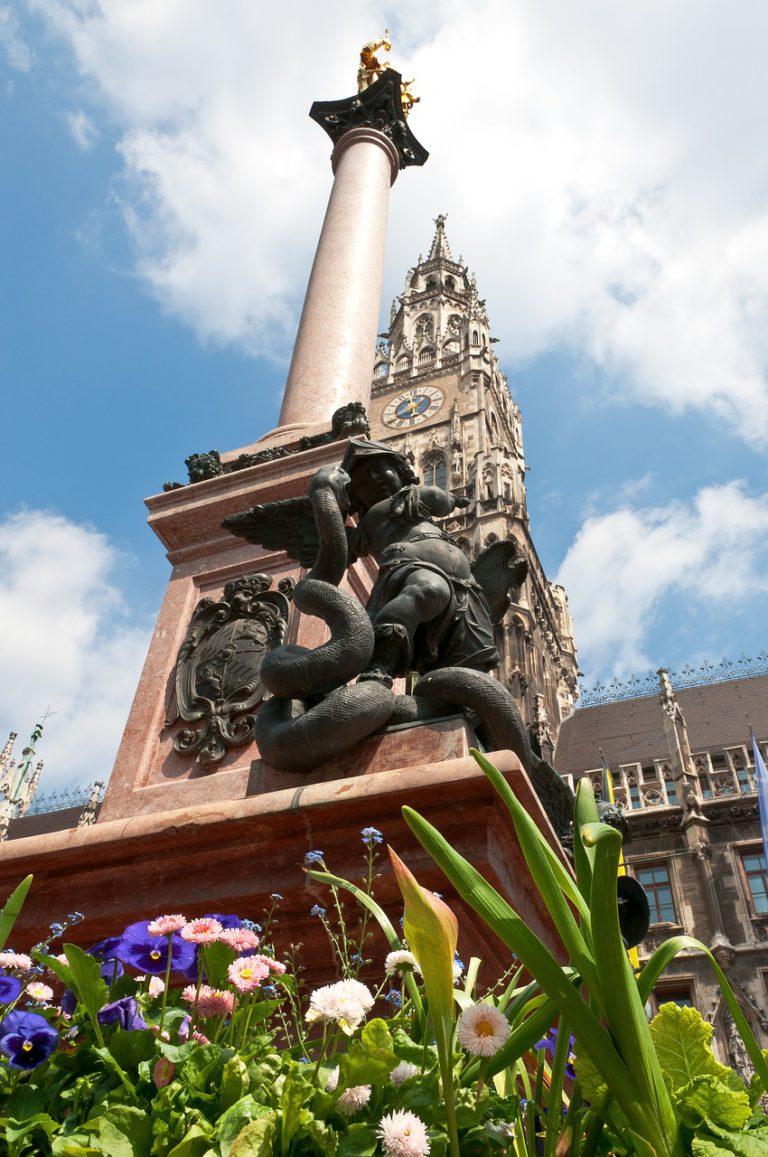 Marienplatz St. Mary's column